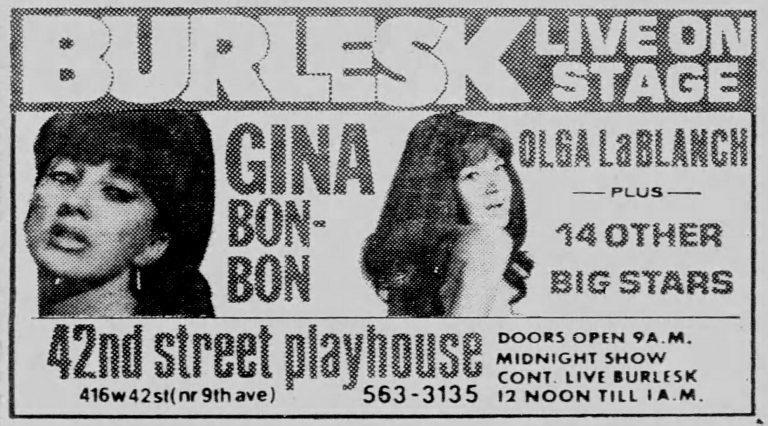 Gina and Olga – Bon-Bon and LaBlanche