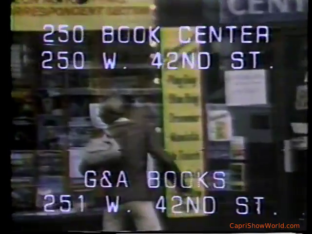 VINTAGE AD – 250 BOOK CENTER/G&A BOOKS (NYC)